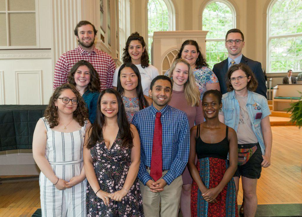 2019 Center For Civic Engagement Senior Award Recipients